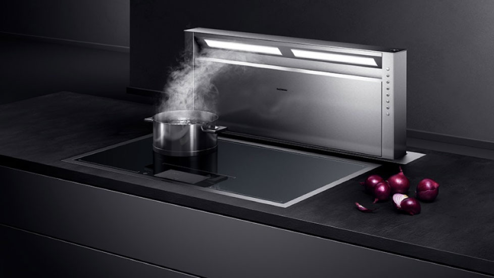La table de cuisson induction Full Zone Série 400 GAGGENAU